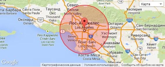 Определение географического положения по IP