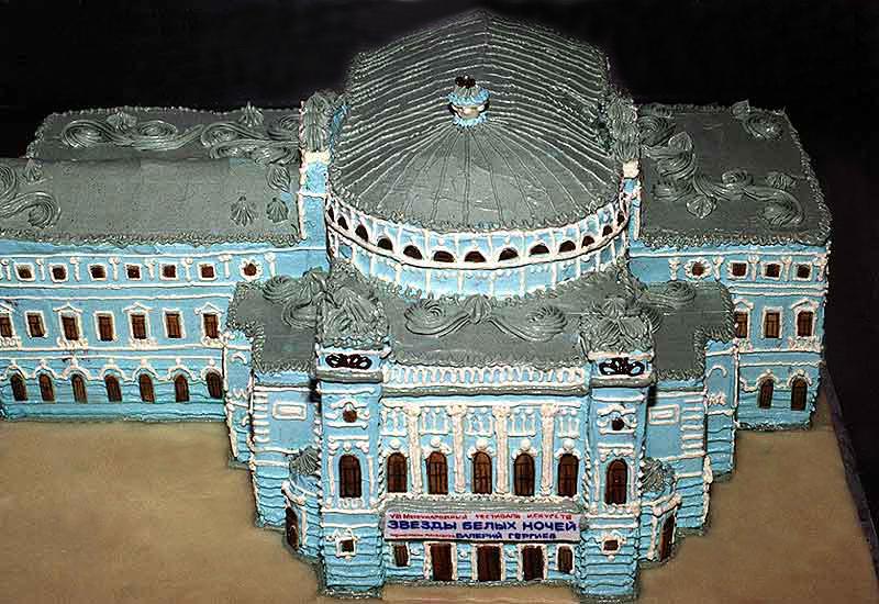 Чудо торты начало серия архитектура