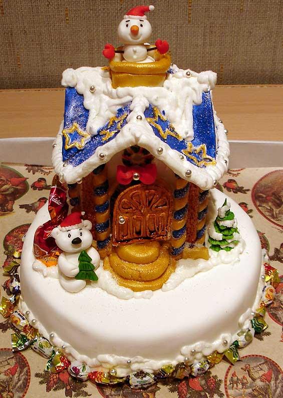 Серия новогодние торты — 34 фото