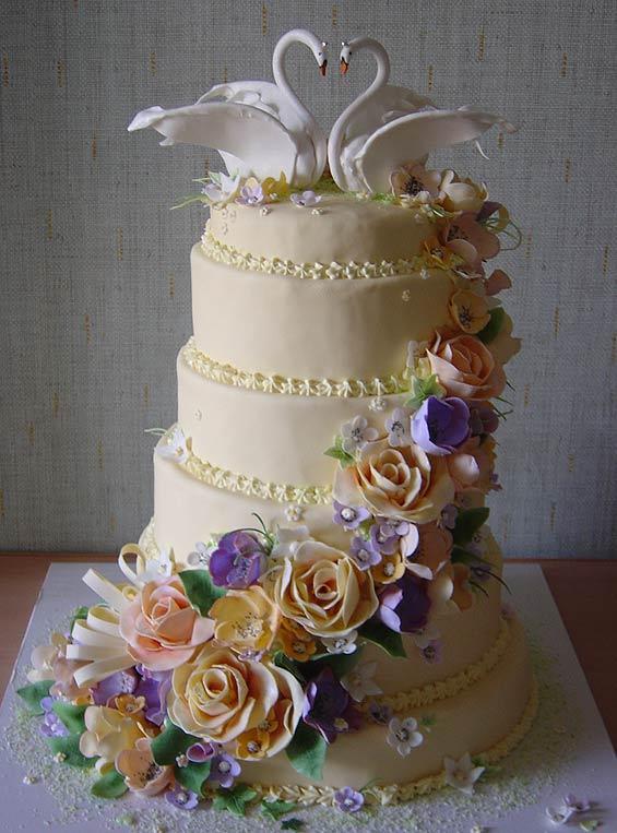 Серия свадебные торты — 80 фото