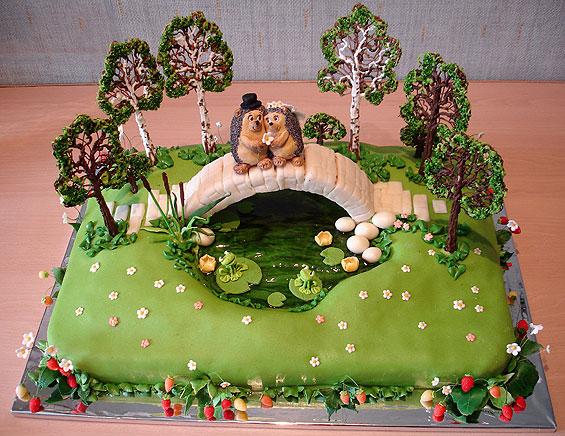 Чудо торты серия свадебные