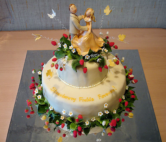 """Свадебные торты ( 26 фото )  """" SwTeam.info."""