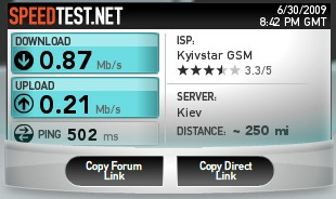 speedtest kyivstar