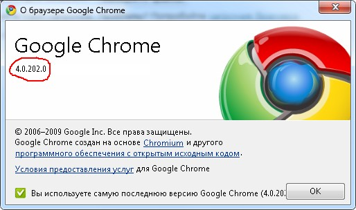 new google chrome 4