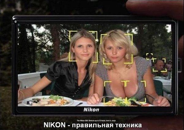 NIKON - правильная техника