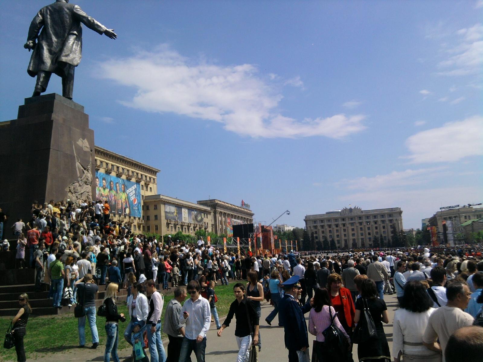 Харьков - День Победы - 2010 - масштаб