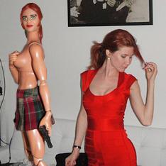 Российская шпионка и кукла