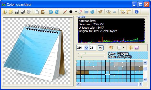 программа для сжатия PNG - cq.exe