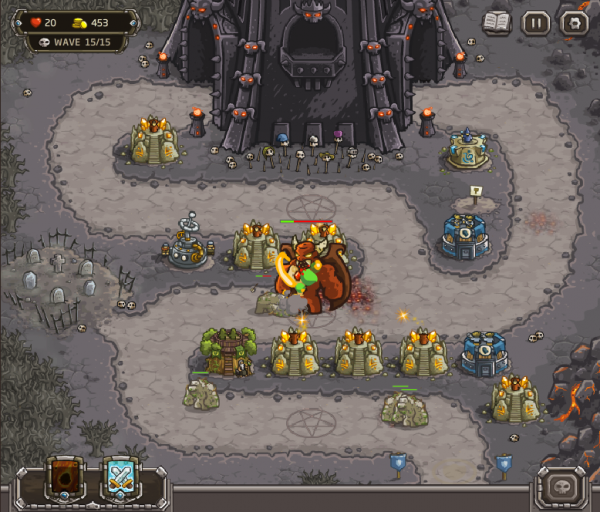 kingdom rush последний уровень