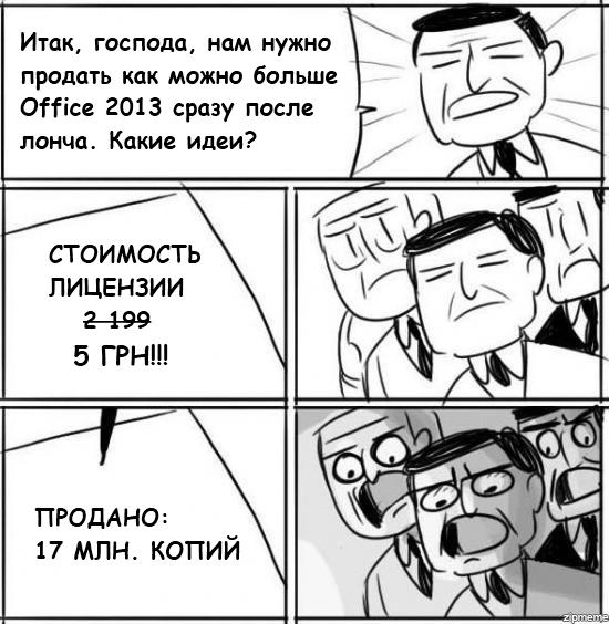 Office 2013 по 5$