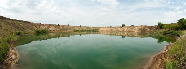 соленое озеро село Антоновка Харьковская область