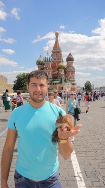 Petr в Moskov