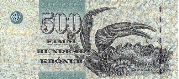 Фарерские острова — 500 крон