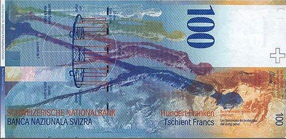Швейцария — 100 франков