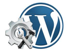 WordPress лого чиним