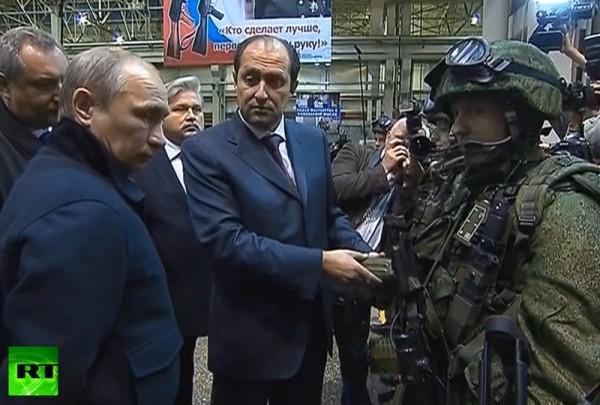 Путин и взвод будущего