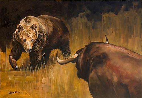Биржа бык и медведь