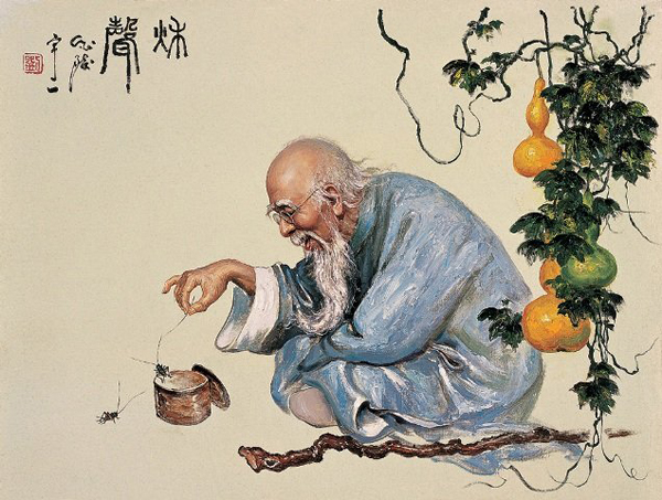 Китайский старец