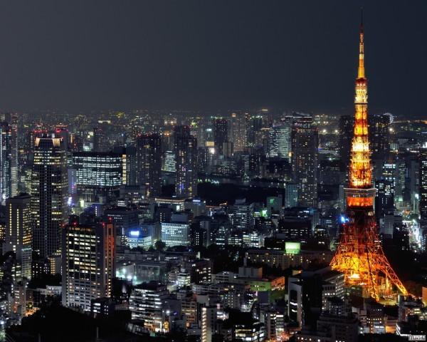 Ночная Япония