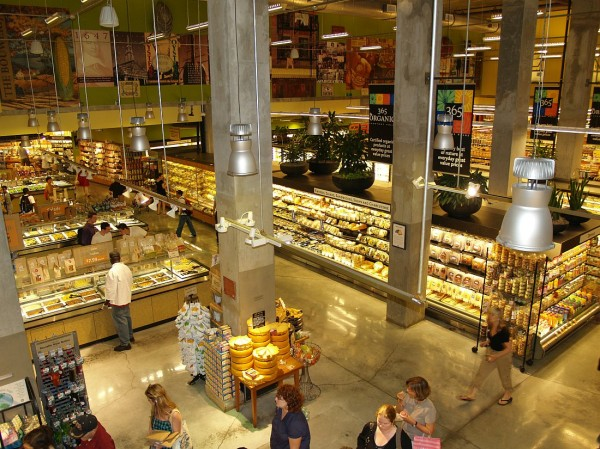 Whole Foods Market in the East Village of New York