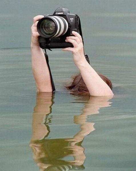 Надводная съемка