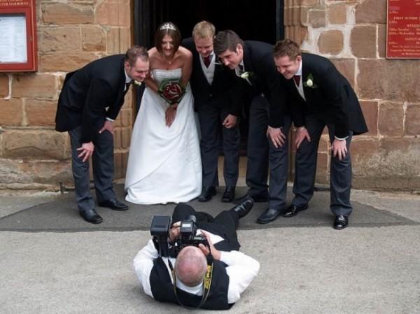 Чего не сделаешь, ради фото невесты