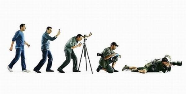Эволюция фотографа
