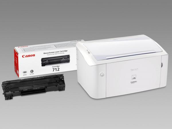 Canon LBP 3010 + картридж 712