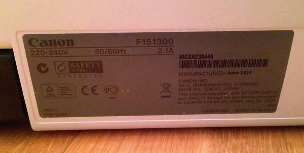 принтер F151300