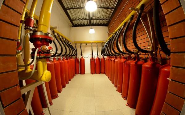 система пожаротушения в дата центре