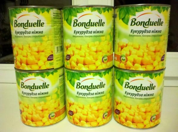 corn bonduelle инвестиции