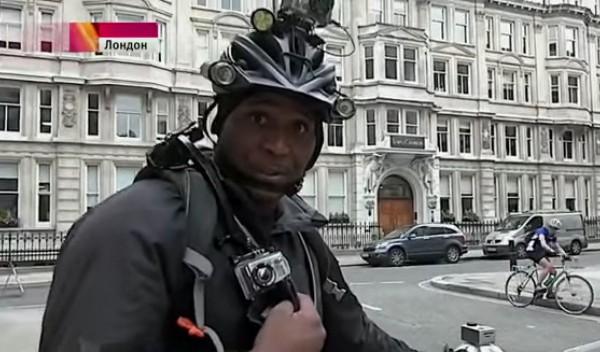 велошериф в Лондоне