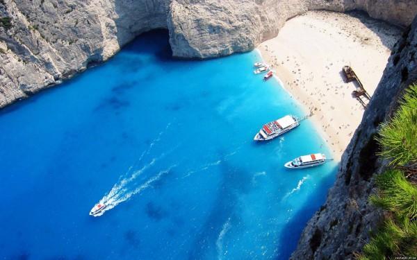 Греция бухта Бухта Навайо, Navagio Beach