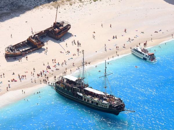 бухта Навайо корабль