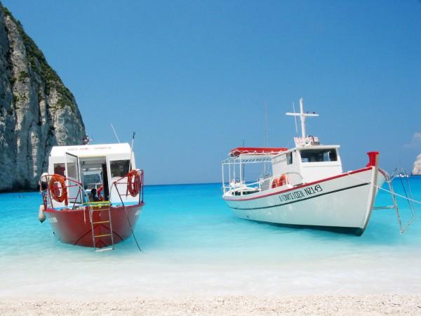 райская бухта Греция