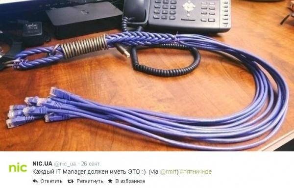 плетка IT менеджера