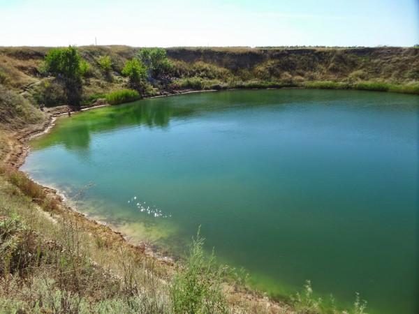 соленое озеро в Харьковской области новое фото