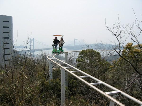 веселая прогулка на скайцикле