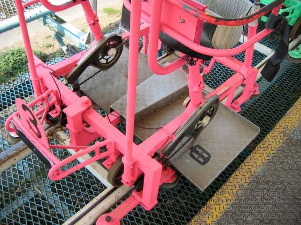 розовый skycycle