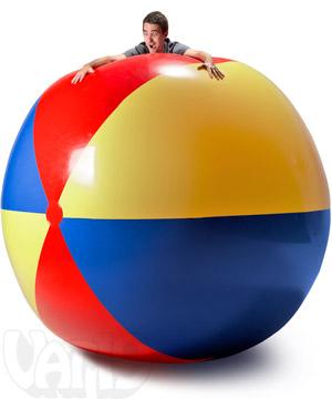 Огромный мяч для пляжа