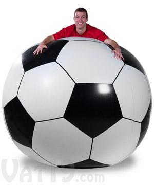 mega soccer ball, огромный футбольный мяч