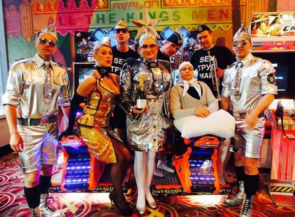 банда Верки Сердючки Америка 2015