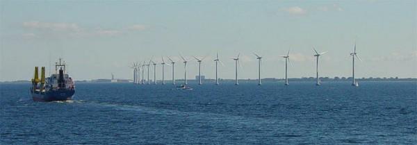 ветряная ферма под Копенгагеном