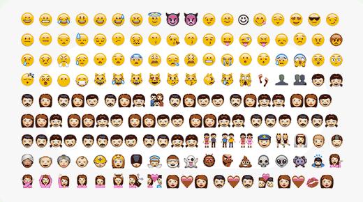 emojis wordpress