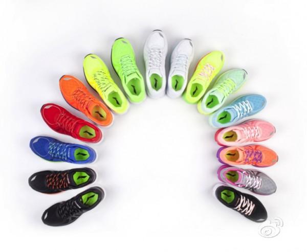 много разных цветов кроссовок xiaomi li-ning smart shoes