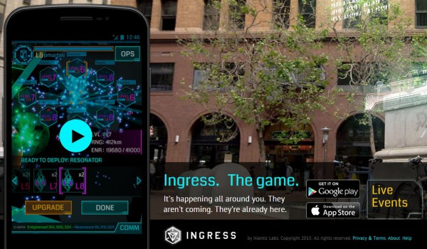 Ingress game
