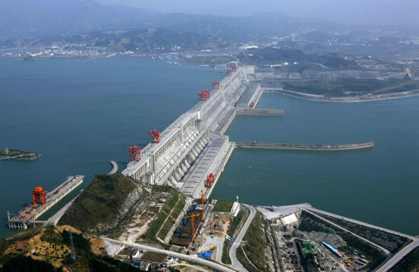 Three Gorges Dam, Три ущелья