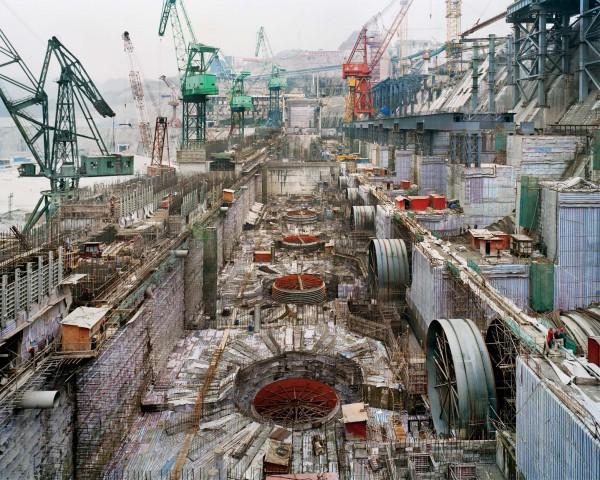 строительство плотины Три ущелья