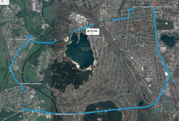 marshrut kharkov pokotilovka, веломаршрут Покотиловка, Филипповка, Харьков