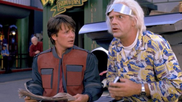 marty mcfly doc brown visit year 2015